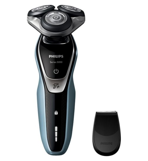 Philips Series 5000 Wet and Dry Men's Electric Shaver S5530/06 with Turbo+ mode