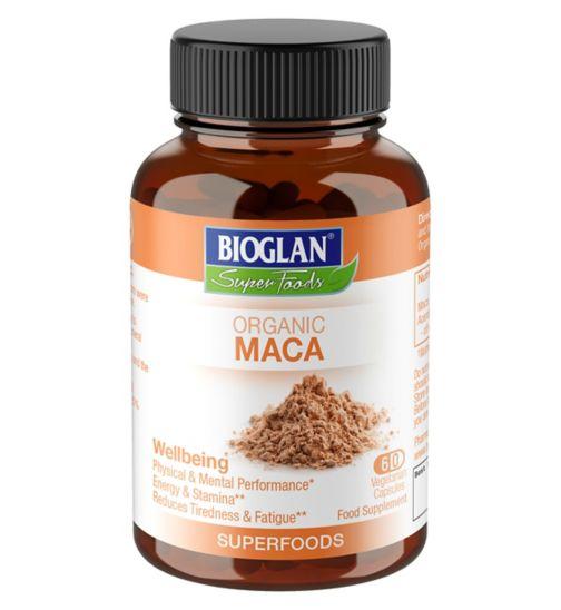 Bioglan Superfood Organic Maca 60 capsules
