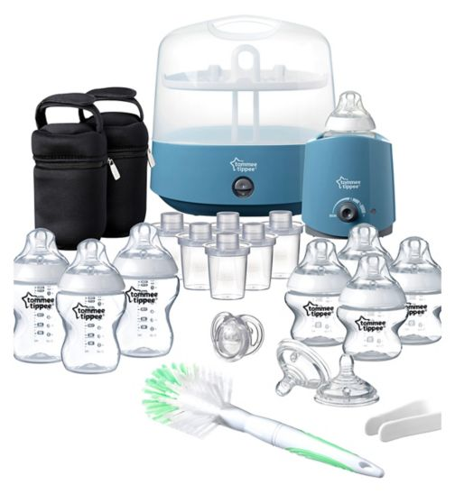 Tommee Tippee Complete Feeding Set Cool Blue