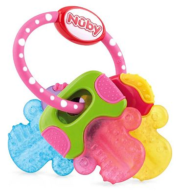 Nuby Ice Bite Keys - Pink