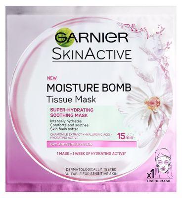 Garnier Moisture bomb tissue mask - chamomile