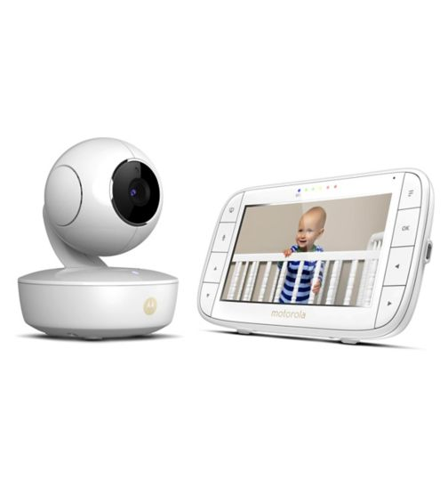 Motorola MBP36XL Digital Video Baby Monitor With Large 5-inch Parent Display Unit