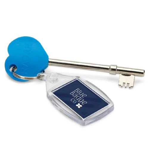 Blue Badge Co RADAR Disabled Toilet Key