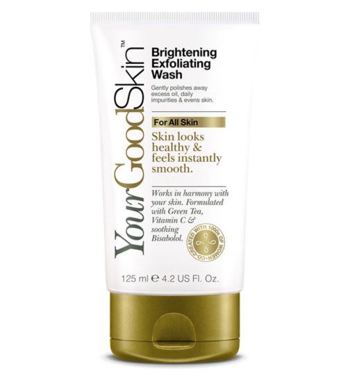 YourGoodSkin Brightening Exfoliating Face Wash 125ml