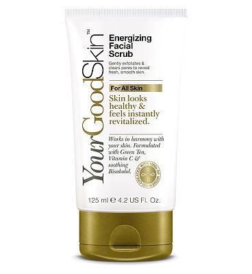 YourGoodSkin Energizing Facial Scrub 125ml
