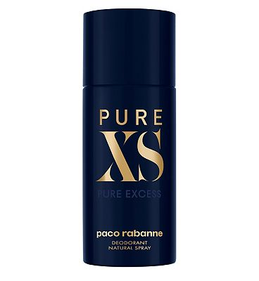 paco rabanne pure xs deodorant natural spray 150ml