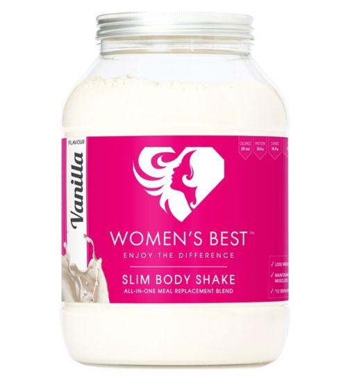 Women's Best Slim Body Shake - Vanilla (600g)