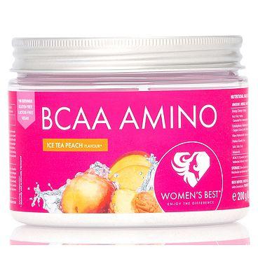 Women's Best BCAA Amino Ice Tea - Peach Flavour (200g)