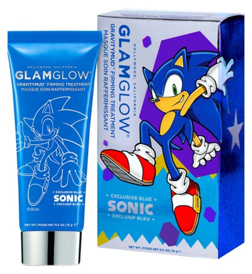 GLAMGLOW Sonic Blue Gravitymud Firming Treatment 15g - Sonic Collectable