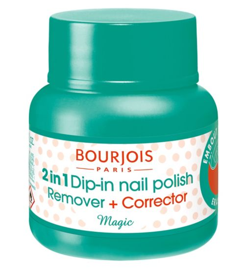 Bourjois Nail Polish Remover 2 in 1