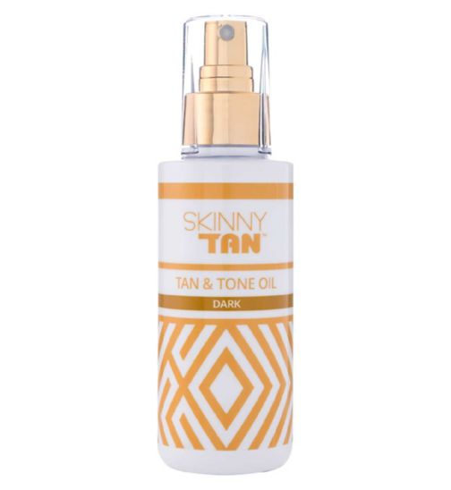 Skinny Tan Tan And Tone Oil Dark 145ml