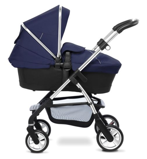 Silver Cross Wayfarer Seat, Chassis & Carrycot;Silver Cross Wayfarer Seat, Chassis & Carrycot;Silver Cross Wayfarer in Vintage Blue bundle;Silver Cross Wayfarer/Pioneer Colourpack - Vintage Blue;Silver Cross Wayfarer/Pioneer Colourpack - Vintage Blue