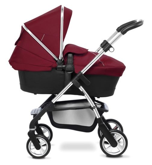 Silver Cross Wayfarer Seat, Chassis & Carrycot;Silver Cross Wayfarer Seat, Chassis & Carrycot;Silver Cross Wayfarer in Vintage Red bundle;Silver Cross Wayfarer/Pioneer Colourpack - Vintage Red;Silver Cross Wayfarer/Pioneer Colourpack - Vintage Red