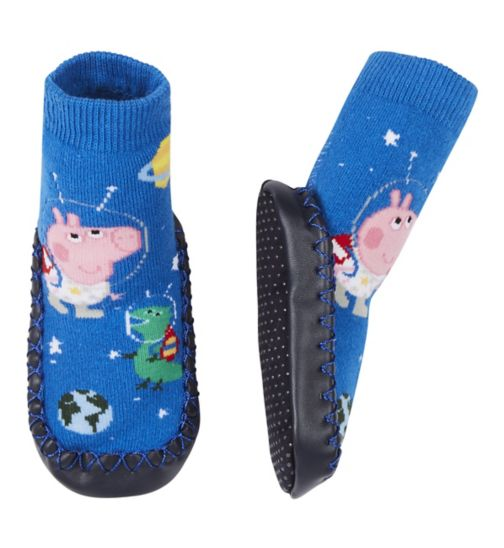 Mini Club Peppa Pig George Slipper Socks