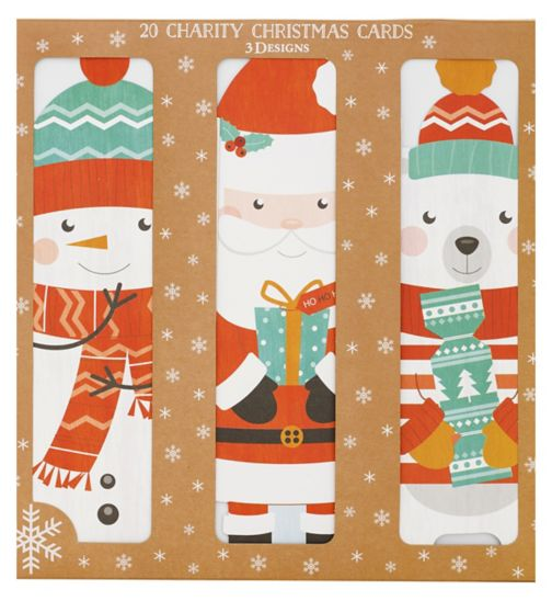 Boots Christmas Boxed Cards - Fun Characters