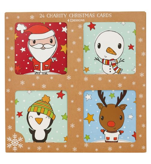 Boots Christmas Boxed Cards - Childrens Fun Characters