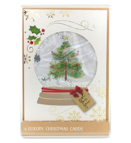 Boots Christmas Boxed Cards - High Premium - Shaker Tree