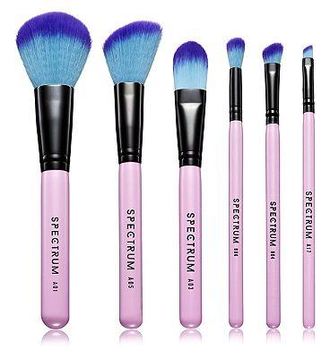 Spectrum Pink 6 piece brush set SC051