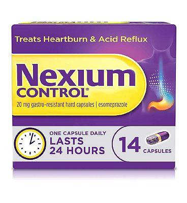 Nexium Control 20mg gastro-resistant hard capsules 14s