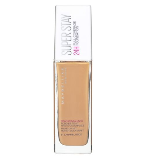 Maybelline SuperStay 24H Liquid Foundation