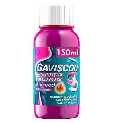 Gaviscon DoubleAction aniseed liquid 150