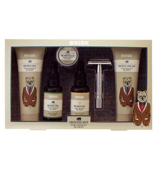Brisk Shaving Kit