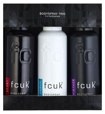 FCUK Bodyspray Trio