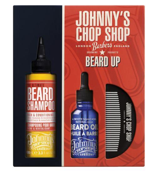 Johnny's Chop Shop Beard Up