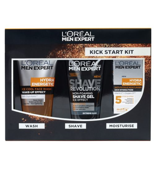 L'Oreal Men Expert Kick Start Kit Gift Set For Him