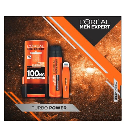 L'Oreal Men Expert Turbo Power Gift For Him EXCLUSIVE