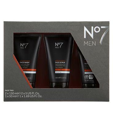 No7 Men Face Trio