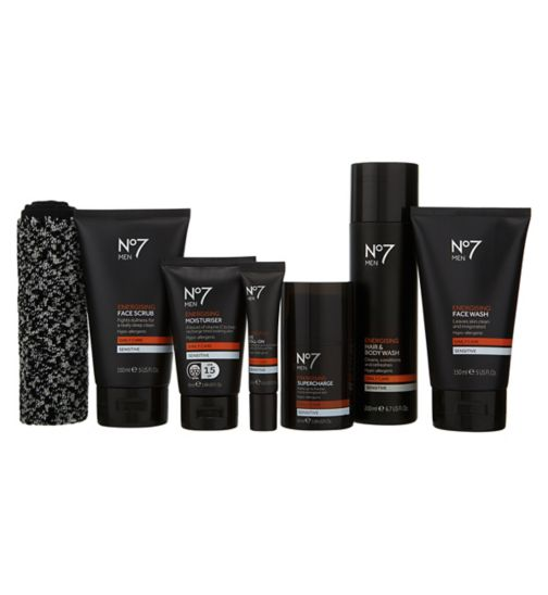 No7 Men Supercharged Grooming Collection