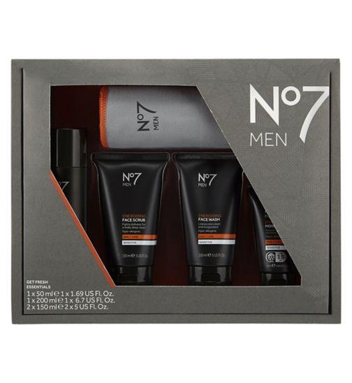 No7 Men Get Fresh Essentials
