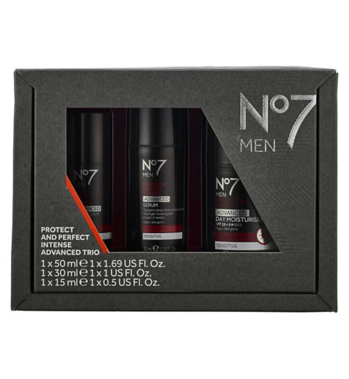 No7 Men Protect & Perfect Intense Advanced Trio