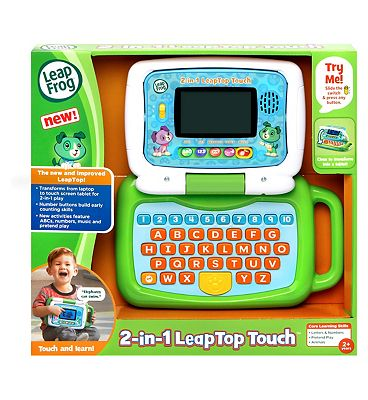 LeapFrog 2 In 1 Leaptop Touch - Green