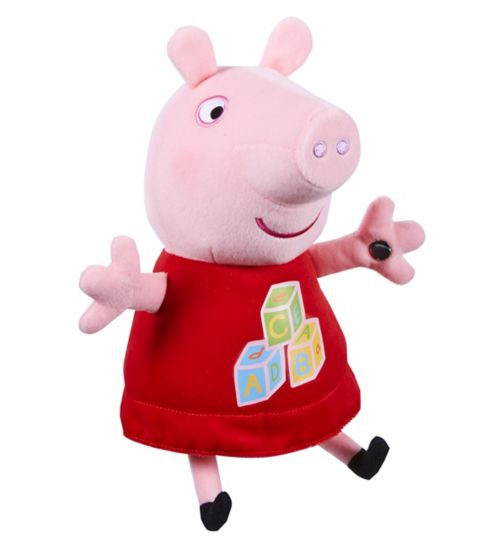 Peppa Pig abc singing plush peppa