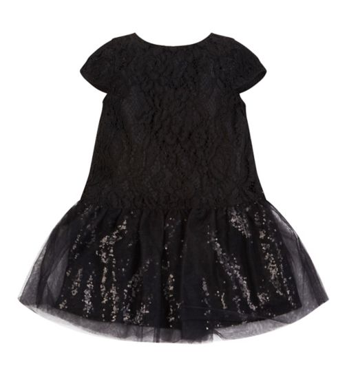 Fearne For Mini Club Black Party Dress