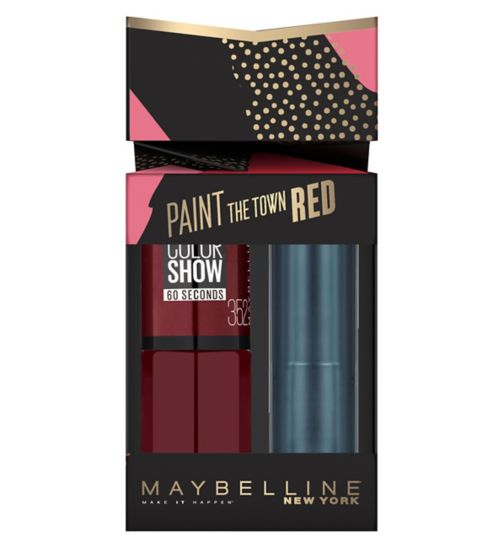 Maybelline Paint the town red