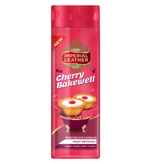 Imperial Leather Cherry Bakewell Bath 500ml