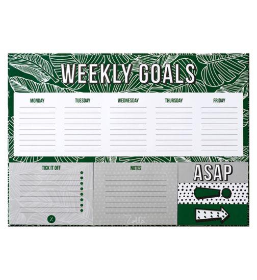 Zoella Weekly Planner