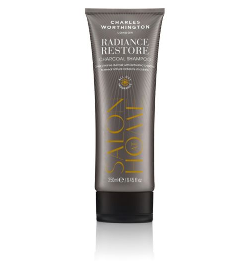 Charles Worthington Radiance Restore Charcoal Shampoo