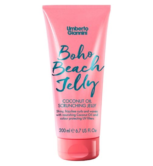 Umberto Giannini Boho Beach Jelly Coconut Oil Scrunching Jelly 200ml