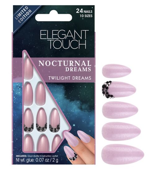 Elegant touch Nocturnal Dreams Nails  Twighlight Dreams