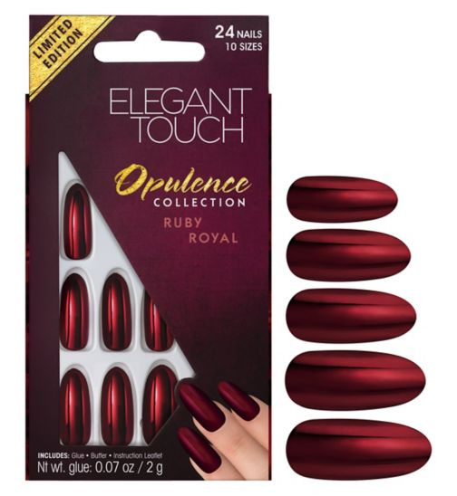Elegant touch Opulence Nails Ruby Royal