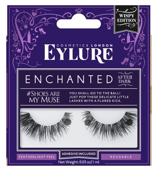 Eylure Enchanted Lashes shoes are my muse