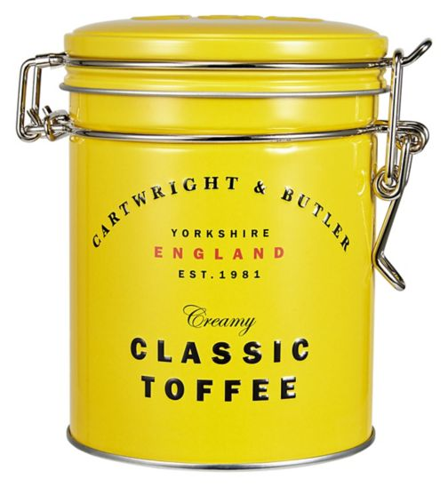New Cartwright & Butler Classic Toffee 150g