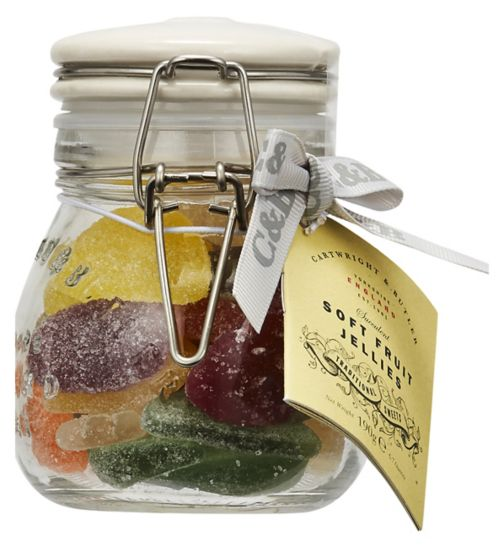 Cartwright & Butler Luxury Soft Fruit Jellies in Clip Jar 190g