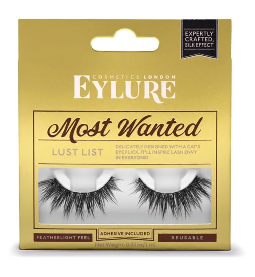 Eylure Most Wanted Lashes Last List