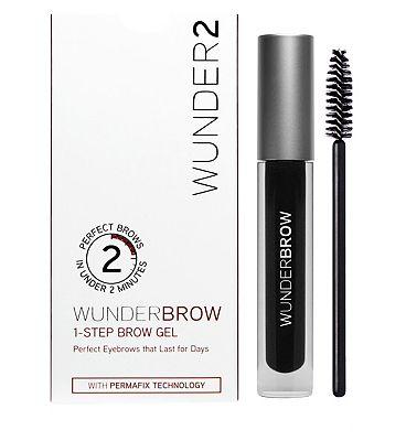 WUNDER2 WUNDERBROW Extra Long-Lasting Eyebrow Gel Jet Black