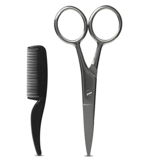Boots Beard and Moustache Scissors